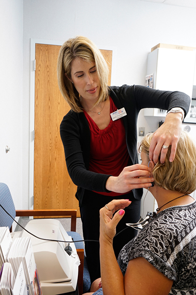 Hearing Aid Testing performed at Midwest ENT Centre