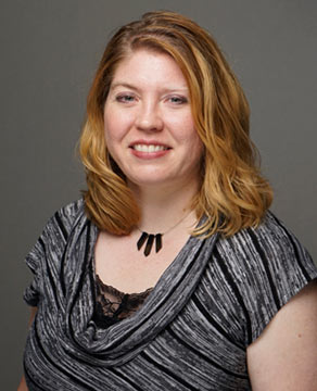 Audiologist Heather Meyer
