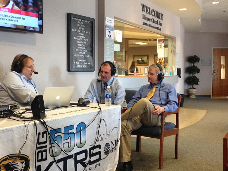 Dr MacDonald & Dr. Ben Conoyer Interview with Big 550 KTRS